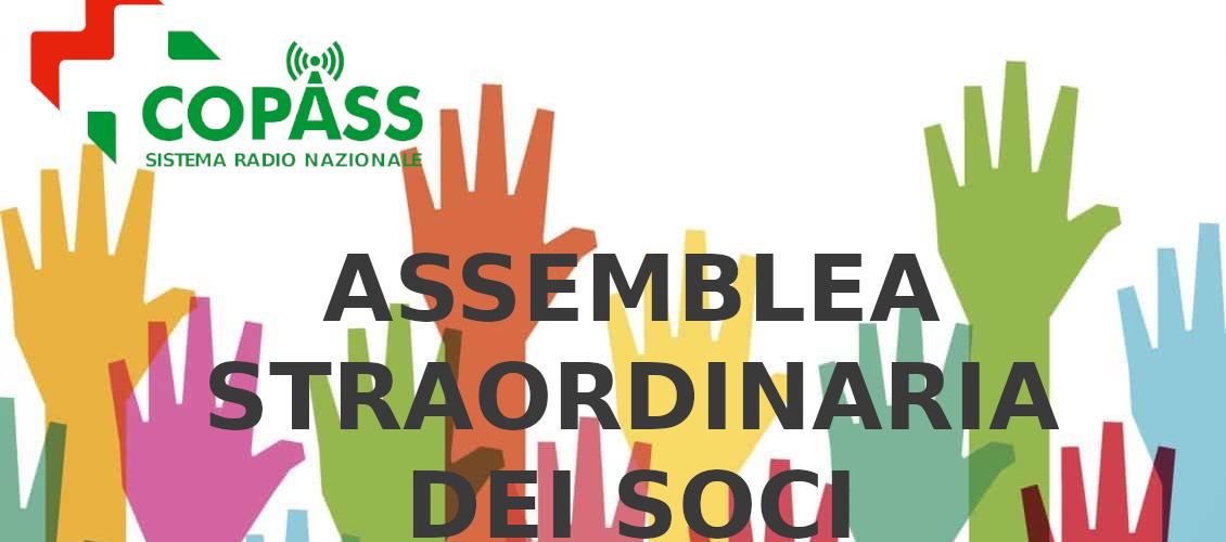 Assemblea straordinaria Soci Copass 2020